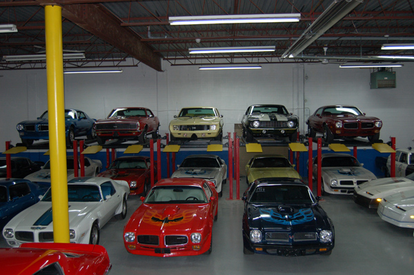 Our Facilities Old Brock Muscle And Classic Car Sales