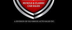 Old Brock Muscle Cars logo