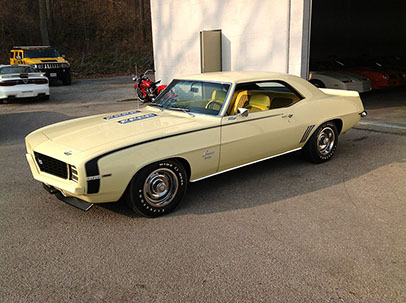 Photo of 1969 Chevrolet Camaro RS SS