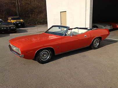 Photo of 1970 Plymouth Barracuda CONVERTIBLE