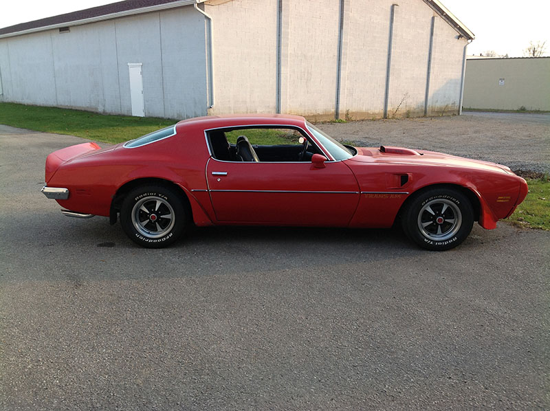 1973 pontiac trans am 455 super duty for sale red 455cid v8 auto old brock muscle and classic cars dundas on old brock muscle cars