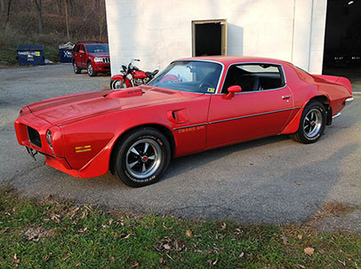1973 Pontiac Trans Am 455 Super Duty For Sale Red