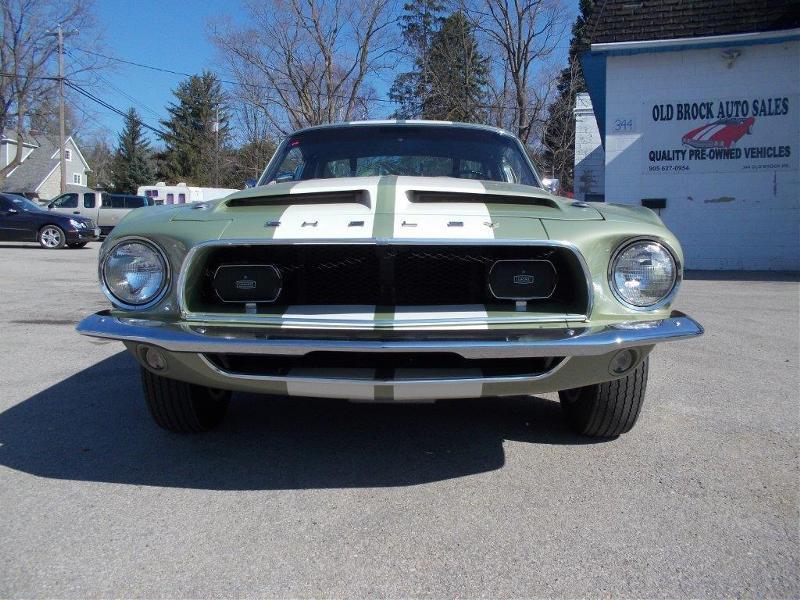 1968 Ford Mustang for sale | Lime green metallic | 428 V8 3-Spd ...