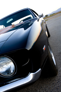 Artistic Photo of Muscle Car