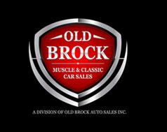 Old Brock Muscle and Classic Car Logo
